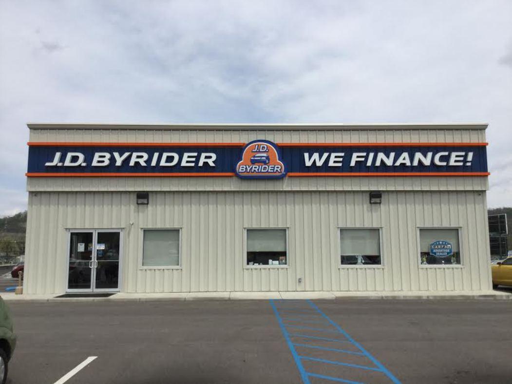 J.D. Byrider 2813 Winchester Ave. Ashland, KY 41101